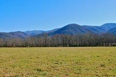 Montañas de Tennessee Imagen de archivo libre de regalías
