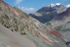 Montañas de Tien Shan - Asia Imágenes de archivo libres de regalías