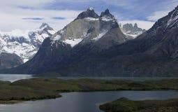 Montañas de Tierra del Fuego Imagen de archivo