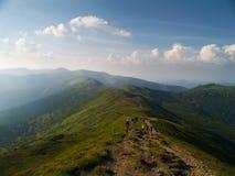 Montañas de Ucrania Foto de archivo libre de regalías
