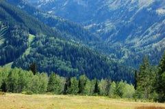 Montañas de Utah Imágenes de archivo libres de regalías