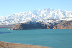 Montañas de Uzbekistán Fotografía de archivo libre de regalías