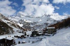 Montañas de Valtounenche Fotografía de archivo