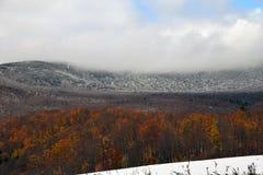 Montañas de Vermont Fotos de archivo