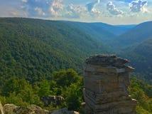 Montañas de Virginia Occidental foto de archivo