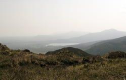 Montañas del anillo de Kerry en el sudoeste Irlanda en mayo de 2016 Foto de archivo libre de regalías