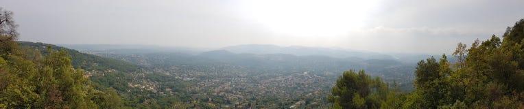 Montañas del azur del ` de riviera francesa Cote d fotografía de archivo libre de regalías