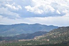 Montañas del balanceo Imagenes de archivo
