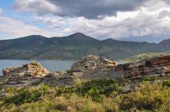 montañas del bayanaul Fotografía de archivo libre de regalías