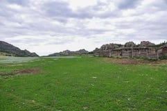 montañas del bayanaul Imagen de archivo libre de regalías