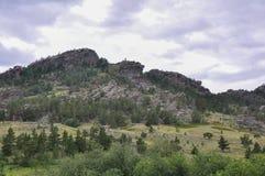 montañas del bayanaul Imágenes de archivo libres de regalías