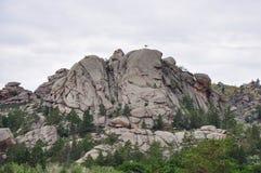 montañas del bayanaul Fotos de archivo libres de regalías