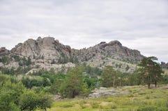 montañas del bayanaul Foto de archivo