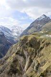 Montañas del Cáucaso fotos de archivo