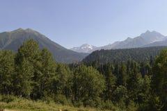 Montañas del Cáucaso Fotografía de archivo libre de regalías