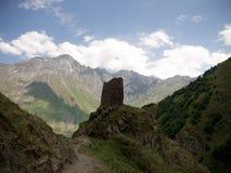 Montañas del Cáucaso Imágenes de archivo libres de regalías