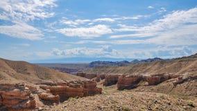 montañas del charyn Imágenes de archivo libres de regalías