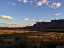 Montañas del desierto de la caída Fotografía de archivo libre de regalías