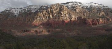 Montañas del desierto del invierno Foto de archivo libre de regalías