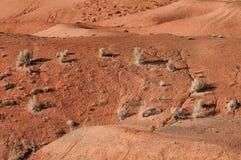 Montañas del desierto en Kazakhstan Foto de archivo