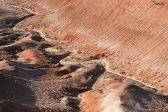 Montañas del desierto en Kazakhstan Imagenes de archivo