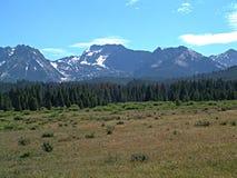 Montañas del diente de sierra de Idaho Fotografía de archivo libre de regalías