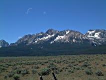 Montañas del diente de sierra de Idaho II Fotos de archivo libres de regalías