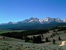 Montañas del diente de sierra de Idaho III Imagen de archivo libre de regalías