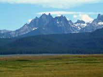 Montañas del diente de sierra de Idaho IX Fotos de archivo
