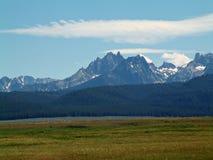 Montañas del diente de sierra de Idaho VIII Imagenes de archivo