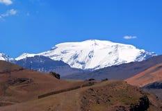Montañas del EL Plomo Fotografía de archivo