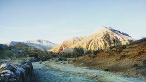 Montañas del emel de Altyn Imagen de archivo libre de regalías