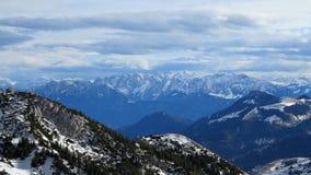 Montañas del fondo Imagen de archivo libre de regalías