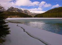 Montañas del invierno foto de archivo libre de regalías