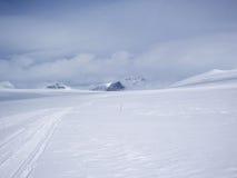Montañas del invierno Fotos de archivo
