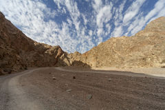 Montañas del Mar Rojo Imagenes de archivo