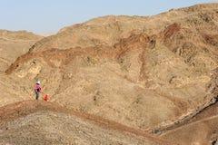 Montañas del Mar Rojo fotografía de archivo