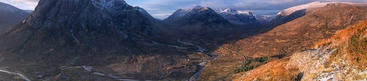 Montañas del oeste de Escocia fotografía de archivo libre de regalías
