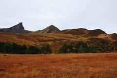 Montañas del otoño Foto de archivo libre de regalías