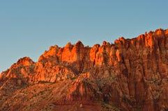 Montañas del parque nacional del filón del capitolio fotografía de archivo