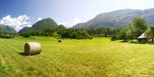 Montañas del resorte Fotografía de archivo libre de regalías