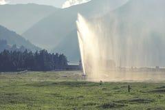 Montañas del Tyrol del sur Fotografía de archivo libre de regalías