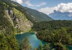 Montañas del Tyrol del sur Fotos de archivo libres de regalías