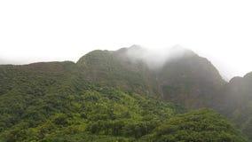 Montañas del valle de Iao Fotografía de archivo libre de regalías