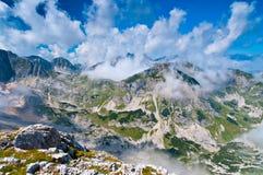 Montañas del verano Fotos de archivo libres de regalías