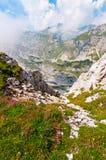Montañas del verano en durmitor Fotografía de archivo