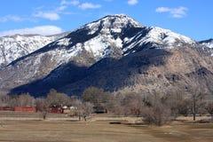 Montañas delanteras de Wasatch Fotografía de archivo