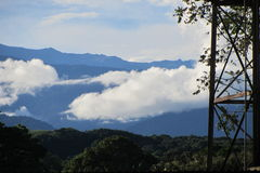 Montañas distantes Fotografía de archivo libre de regalías
