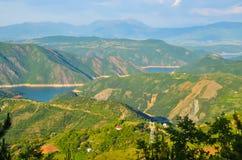Montañas en Albania Fotos de archivo