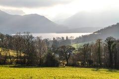 Montañas en Ambelside Cumbria Imagen de archivo libre de regalías